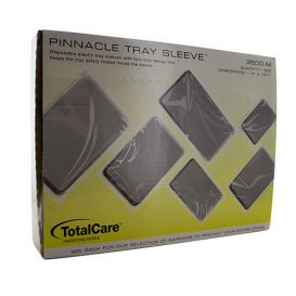 "Tray Sleeve For Mayo Tray 14"" x 19 1/2"" Clear - 500/Box"