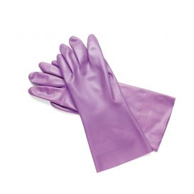 Glove Nitrile Utility Lilac Small, Sz 7 - 3prs/Pack