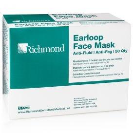 Earloop Face Mask, Anti-Fluid, Anti-Fog, ASTM Level 1 Lavender - 50/Box