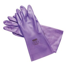 Glove Nitrile Utility Medium, Size 8 Lilac - 3/Pack