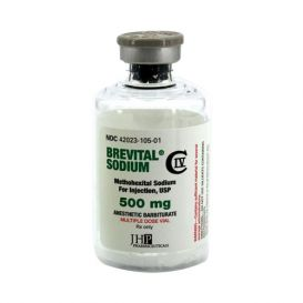 Brevital® Sodium 500mg 50ml Multiple Dose Vial
