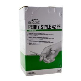The Original Perry® Style 42® Latex Surgical Gloves, Size 7.5, Powder-Free - 4/Box