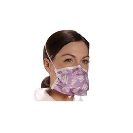 Critical Cover Earloop Mask PFL Blue ASTM Level 3 - 50/Box