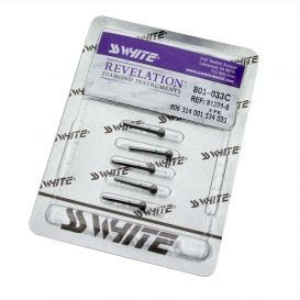 Revelation Diamond Bur, Coarse, Round - 5/Box