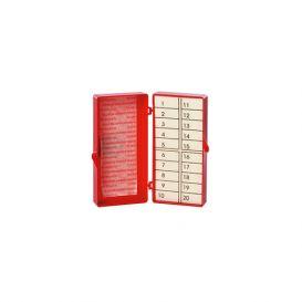 Needle Counter Foam w/ Magnetic Pad 20ct - 16/Box