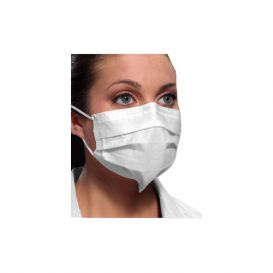 Ultra® Sensitive FogFree® Earloop Mask w/ Secure Fit® Technology, White, ASTM Level 3 - 50/Box