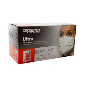 Ultra® Earloop Mask w/ Secure Fit® Technology, Blue, ASTM Level 3 - 50/Box