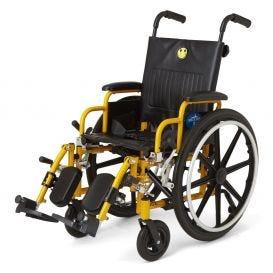 """Kidz Pediatric Wheelchair 14"""" x 12"""" Seat w/Swing Footrest"""
