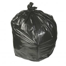 "Waste Can Liner Black 30"" x 36"" 20-30 Gal .45mil - 250/Case"