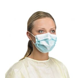 Earloop Procedure Mask, ASTM Level 3 Blue - 50/Box