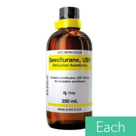 Sevoflurane Inhalation Anesthetic, 250ml Glass Bottle -