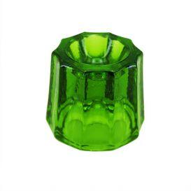 Glass Dappen Dish Green
