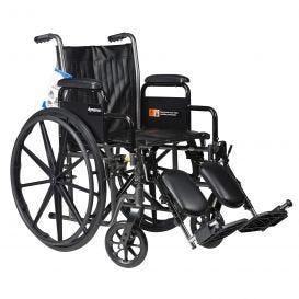 "Wheelchair 18"" Swing Foot Rest & Arm Rest"