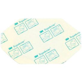 "Tegaderm™ Transparent Dressing, Frame Style w/Label, 2-3/8"" x 2-3/4"" - 100/Box"