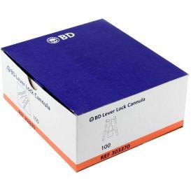 INTERLINK® Lever Lock Cannula 15ga - 100/Box