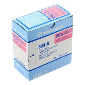 "SURFLO® IV Catheter, 20G x 1 ¼"", Pink - 50/Box"