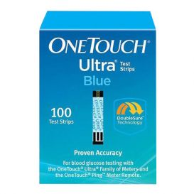OneTouch® Ultra® Blue Test Strips - 100/Box
