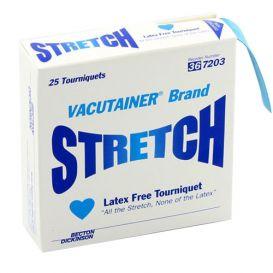"Vacutainer® Stretch Latex-Free Tourniquet, 18"" x 1"" - 25/Box"
