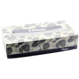 """Kleenex® Facial Tissue, 8.4"""" x 8"""", White - 36/Case"""