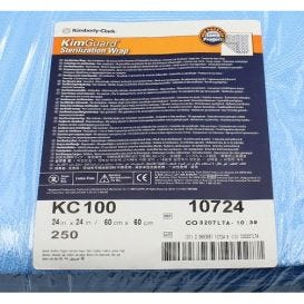 "KIMGUARD ONE-STEP Sequential Sterilization Wrap, 24"" x 24"" 500/Case - 500/Case"