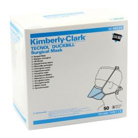 Duckbill Surgical Mask, Tie-On, Blue - 50/Box