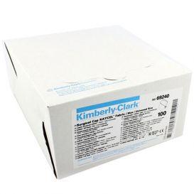 Surgeon Cap (Low Fluid Contact Risk), Tie-On, Universal, Blue - 100/Box