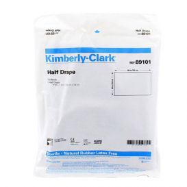 """Sterile Drape Sheets, 60"""" x 44"""", Half - 54/Case"""