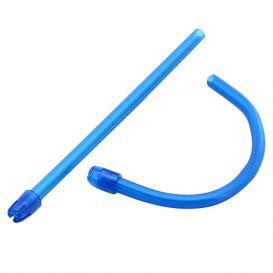 Advantage Saliva Ejectors, Blue w/Blue Tip - 100/Box