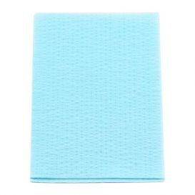 """Advantage Plus® Patient Towels, 3-Ply Tissue with Poly, 18"""" x 13"""", Blue - 500/Case"""