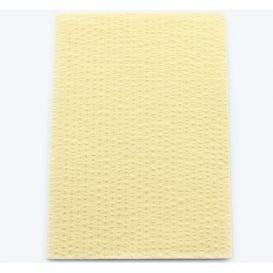 "Advantage Patient Towels, 2-Ply Tissue with Poly, 18"" x 13"", Beige - 500/Case"
