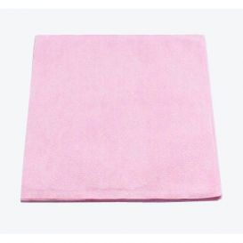 """Polycoated Headrest Covers, 10"""" x 10"""" Standard, Dusty Rose - 500/Case"""