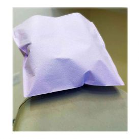 """Polycoated Headrest Covers, 10"""" x 13"""" Extra Large, Lavender - 500/Case"""