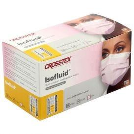 Isofluid® Earloop Mask, Pink, ASTM Level 1 - 50/Box