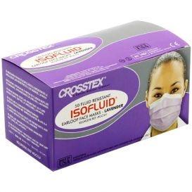 Isofluid® Earloop Mask, Lavender, ASTM Level 1 - 50/Box