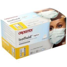 Isofluid® FogFree® Earloop Mask, Blue, ASTM Level 1 - 40/Box