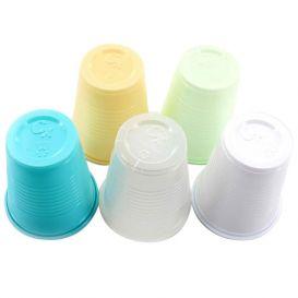 Plastic Cups, 5 oz, Green - 1000/Case