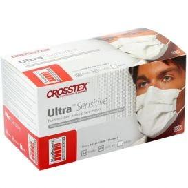Ultra® Sensitive Earloop Mask, White, ASTM Level 3 - 50/Box
