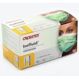 Isofluid® Earloop Mask, Green, ASTM Level 1 - 50/Box