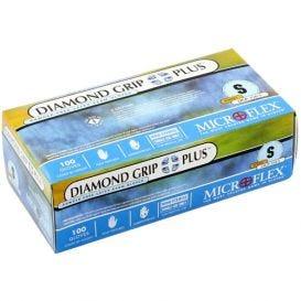 Diamond Grip Plus™ Exam Glove, Small, Latex, Powder-Free - 100/Box