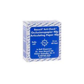 Arti-Check® Articulating Paper Blue 40 Micron - 15m Roll