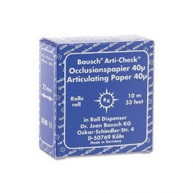 Arti-Check® Articulating Paper Blue 40 Micron - 10m Roll