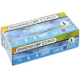 Diamond Grip Plus™ Exam Glove, Large, Latex, Powder-Free - 100/Box