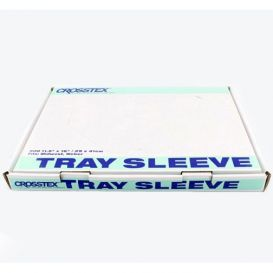 "Tray Sleeves, Midwest/Weber, 11.5"" x 16"", Clear - 500/Box"