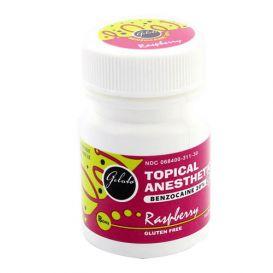 Gelato® Topical Anesthetic Gel, 1 oz Jar, Raspberry -