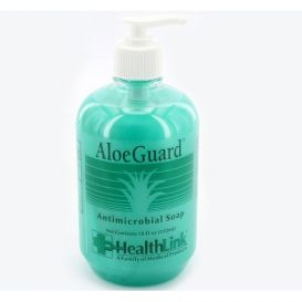 AloeGuard® Antimicrobial Soap, 18 oz Pump Bottle -