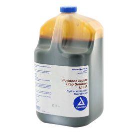Povidone Iodine Prep Solution, 1 Gallon -