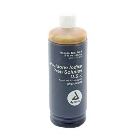Povidone Iodine Prep Solution, 16 oz -