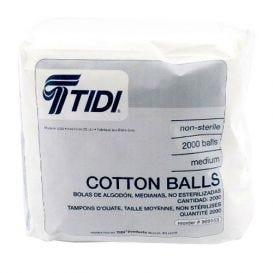 Cotton Balls Non-Sterile Medium - 1000/Bag