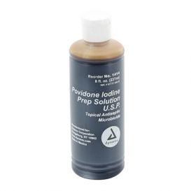 Povidone Iodine Prep Solution, 8 oz -