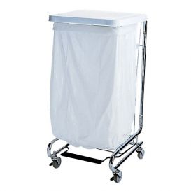 """Waste Can Liner White 20-30 Gallon .80mil 30"""" x 36"""" - 200/Case"""
